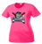 Stallions Ladies Performance Tee - Neon Pink