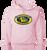 OF Lacrosse Hooded Sweatshirt - Pale Pink