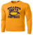 Bulldog Youth Football Performance Tee LS - Gold