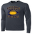 Bulldog Youth Football Performance Tee LS - Iron Grey