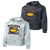 Bulldog Youth Football CamoHex Hoody