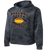 Bulldog Youth Football CamoHex Hoody - Dark Smoke Grey