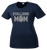 Stallions Mom Ladies Performance Tee - Navy