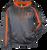 Premier Ohio Fusion Hoodie - Carbon Heather/Burnt Orange