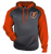Premier Ohio Sport Heather Hoodie - Carbon Heather/Burnt Orange