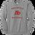 Red Devils Baseball Crewneck - Athletic Heather
