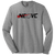 NEO Volleyball Club Perfect LS Crew Tee - Grey Frost