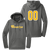 NEO Navigators Performance Hoodie - Dark Smoke Grey - Number
