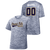 OFAB Adult Electric Heather Tee - Name and number