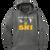 OF Ski Club Performance Hoodie - Dark Smoke Grey