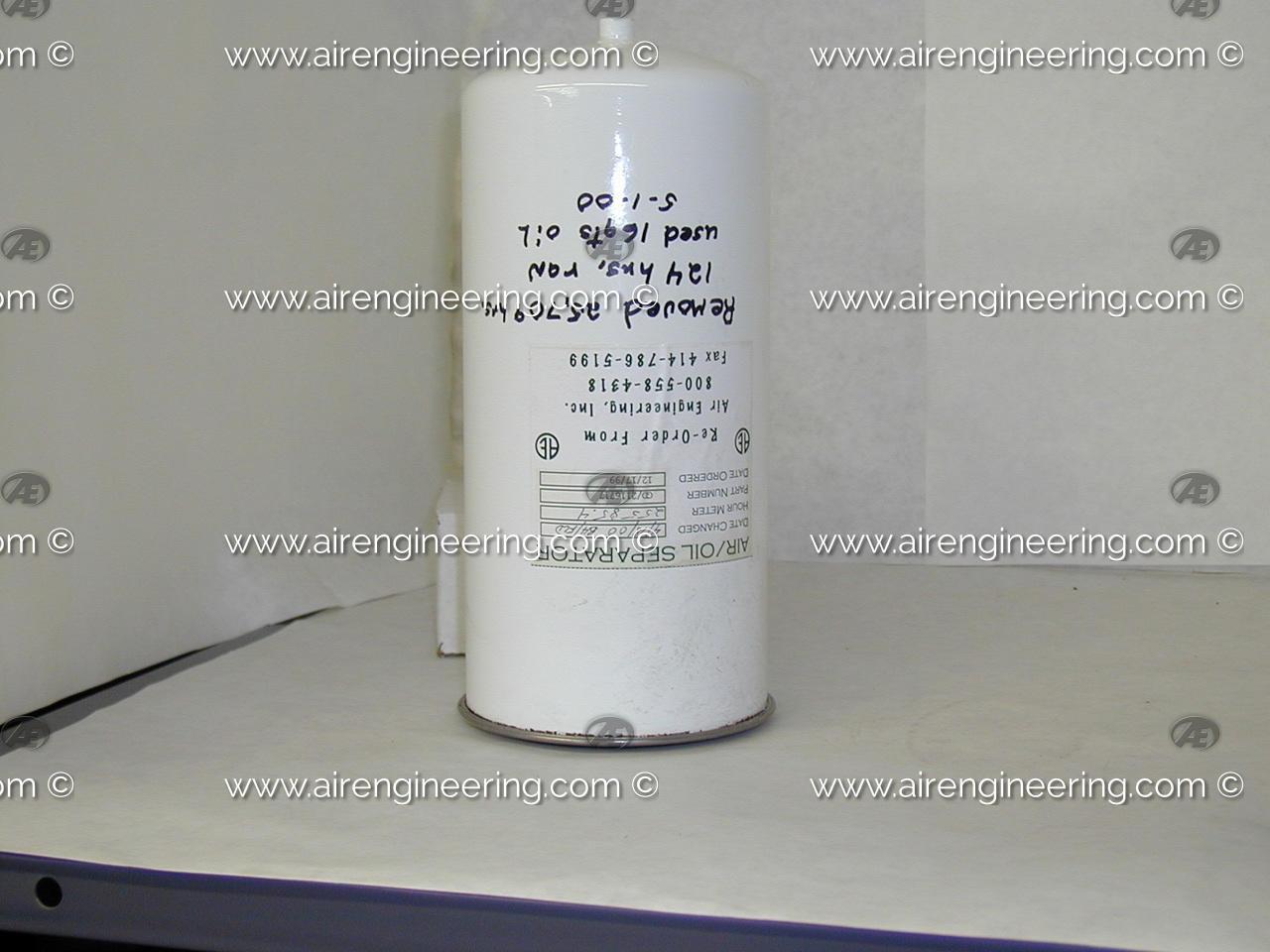 2116717 Air//Oil Separator Designed for use with Gardner Denver Compressors