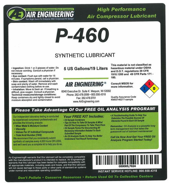 00061-055 - Compressor Lubricant - PALASYN 45 - 55 GAL