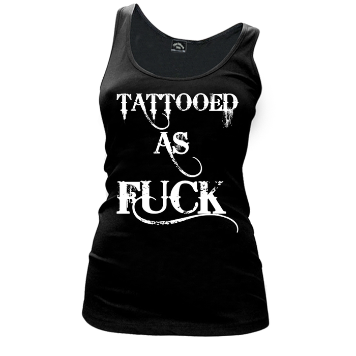Women'S Tattooed As Fuck - Tank Top