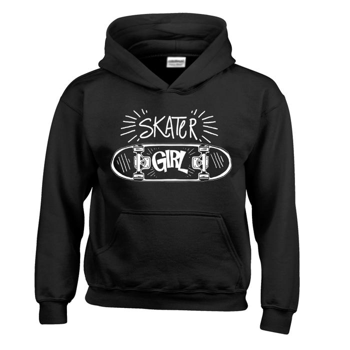 Kids Skater Girl - Hoodie