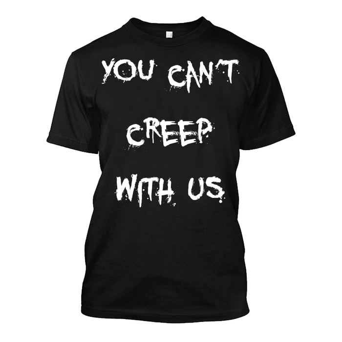 Men's You Can'T Creep With Us (Halloween) - Tshirt