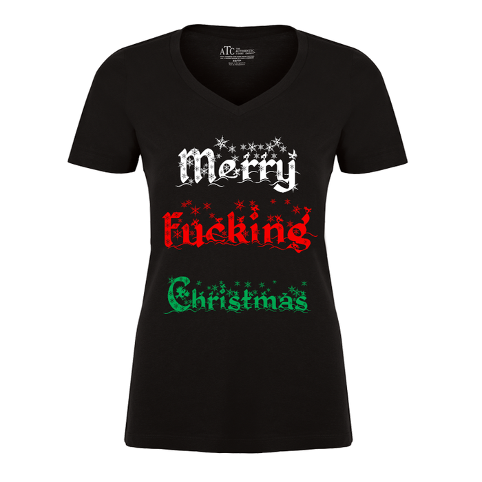 Women'S Merry Fucking Christmas (V1) - Tshirt