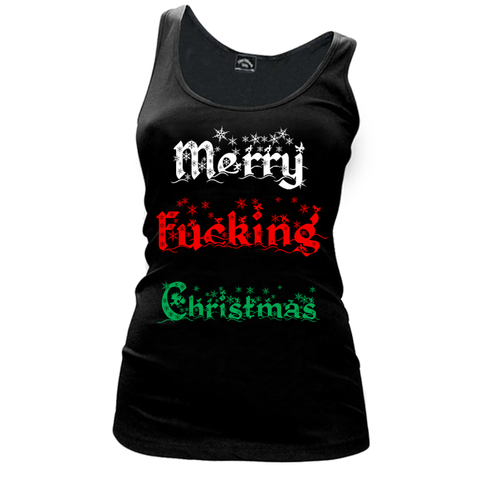 Women'S Merry Fucking Christmas (V1) - Tank Top