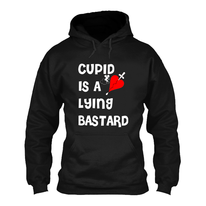 Men'S Cupid Is A Lying Bastard - Hoodie