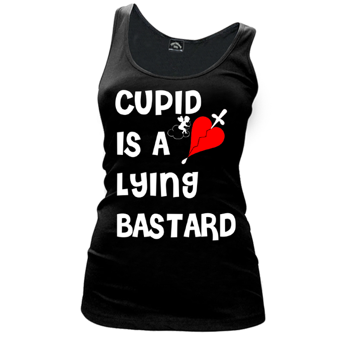 Women'S Cupid Is A Lying Bastard - Tank Top