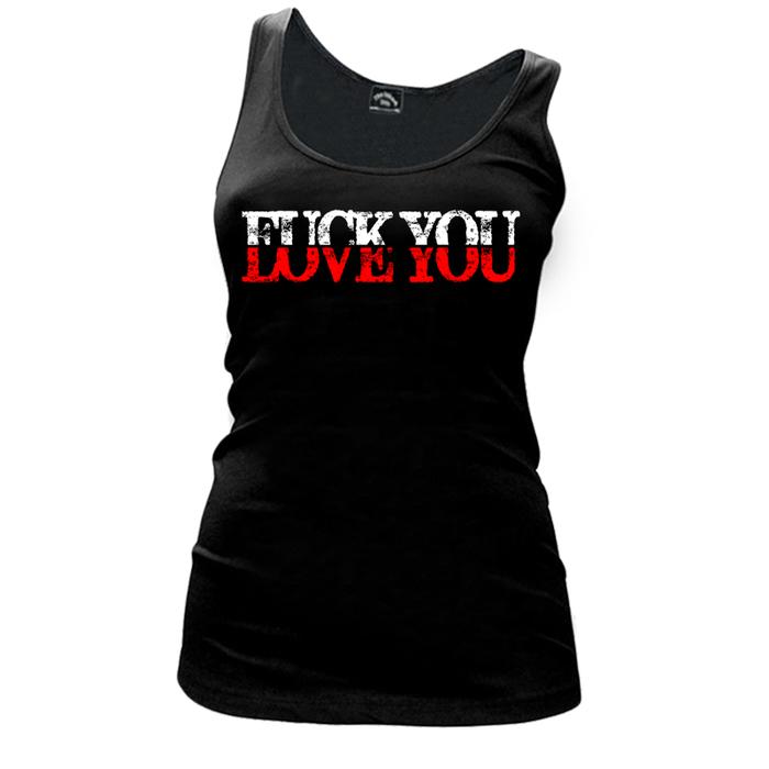 Women's Fuck You Love You - Tank Top