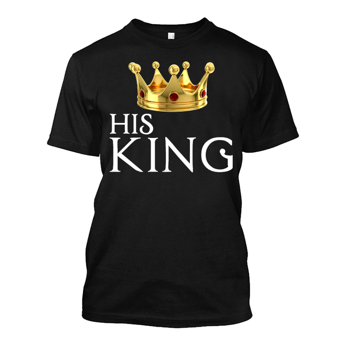 Men'S His King - Tshirt