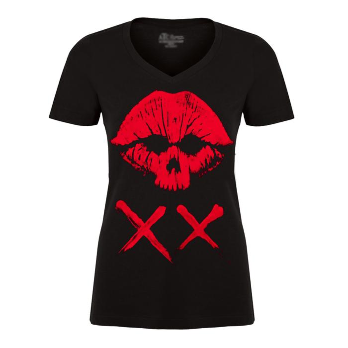 "Women's ""Deadly Kiss Lips"" NEW - Tshirt"
