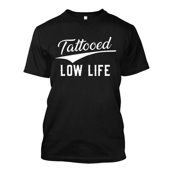Men's Tattooed Low Life - Tshirt