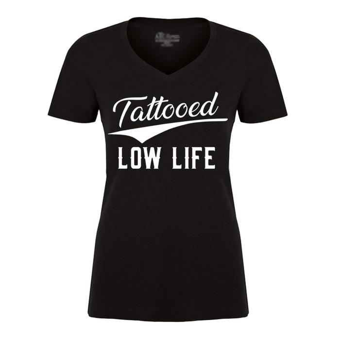 Women's Tattooed Low Life - Tshirt