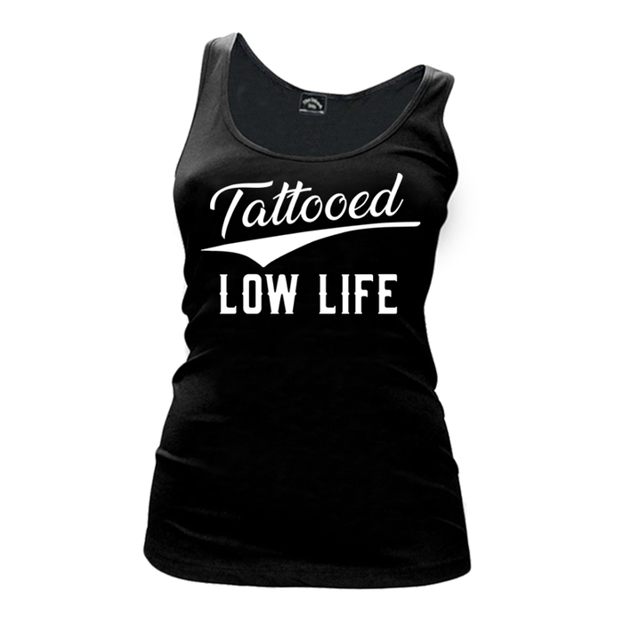 Women's Tattooed Low Life - Tank Top