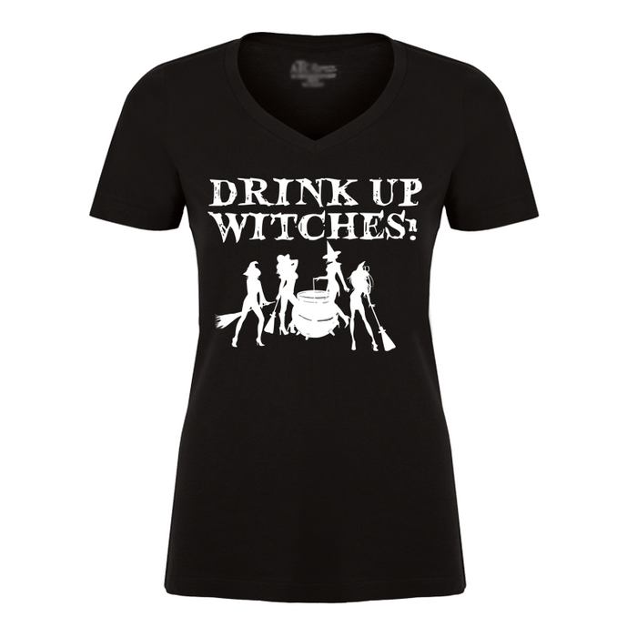 Women's Drink Up Witches (Halloween) - Tshirt