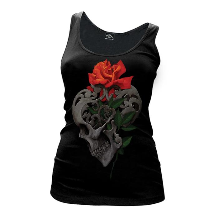Women's Skull & Roses - Tank Top