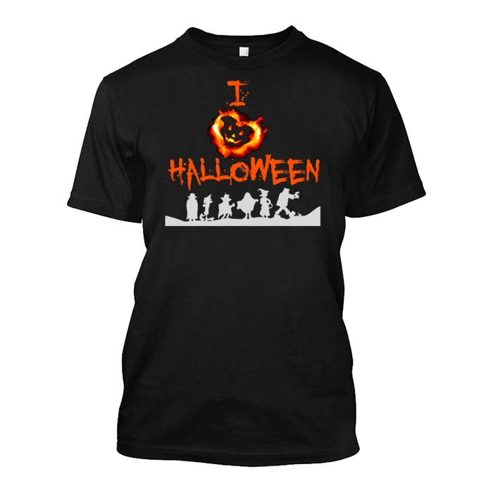 Men's I Love Halloween - Tshirt