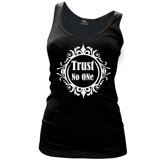 Women'S Trust No One - Tank Top
