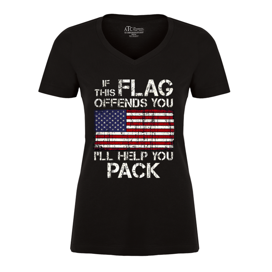Women'S If This Flag Offends You (United States) - Tshirt