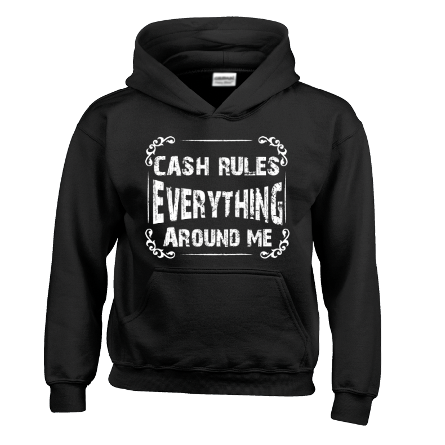 Kids Cash Rules Everything Around Me- Hoodie