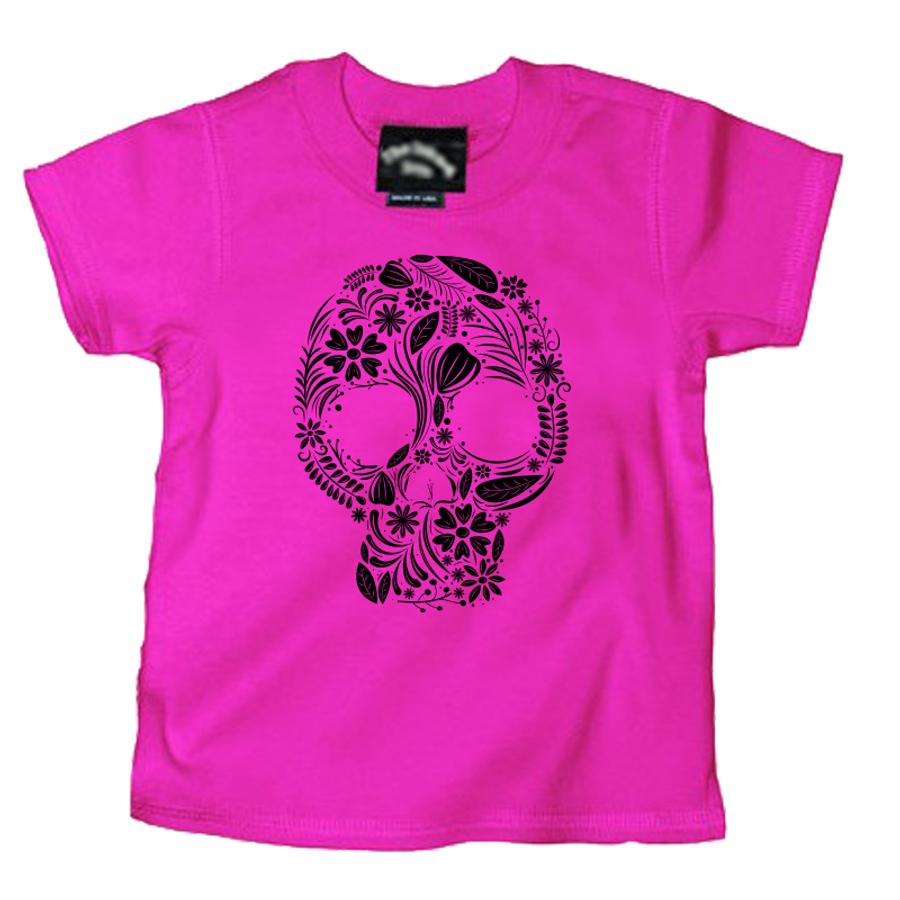 Kids Day Of The Dead Sugar Skull - Tshirt