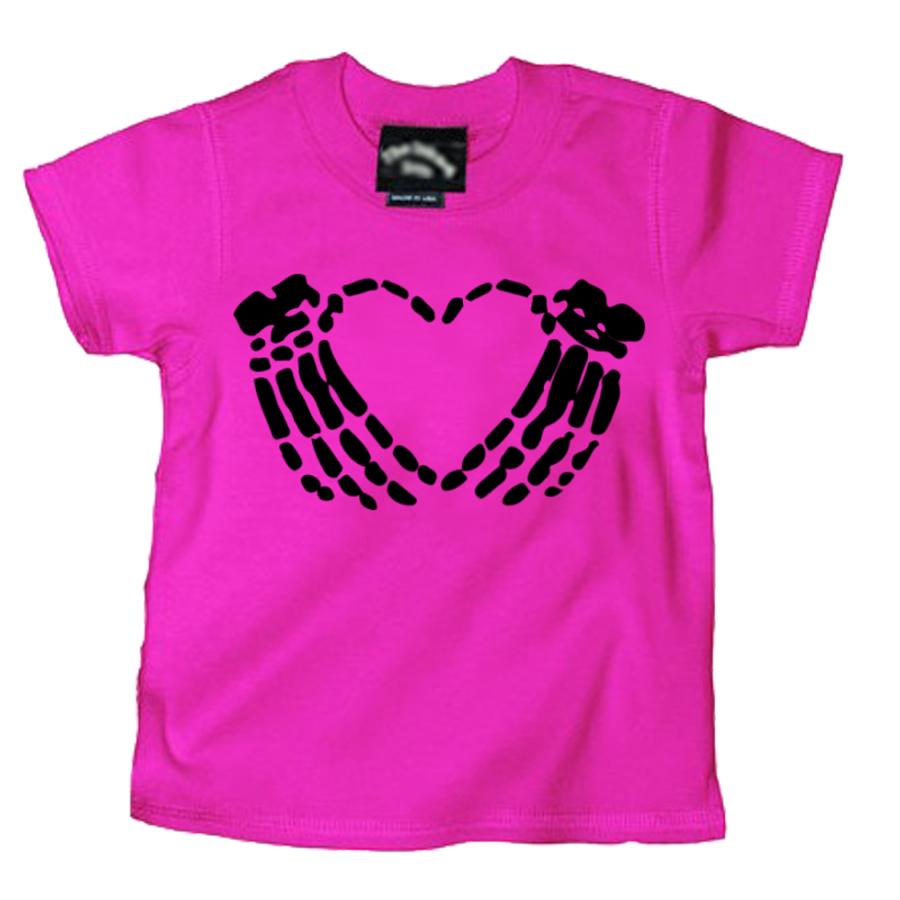 Kidsa Crimson Heart - Tshirt