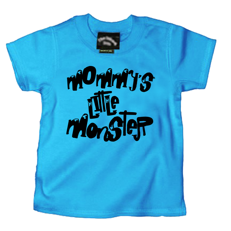 Kids Mommy'S Little Monster - Tshirt
