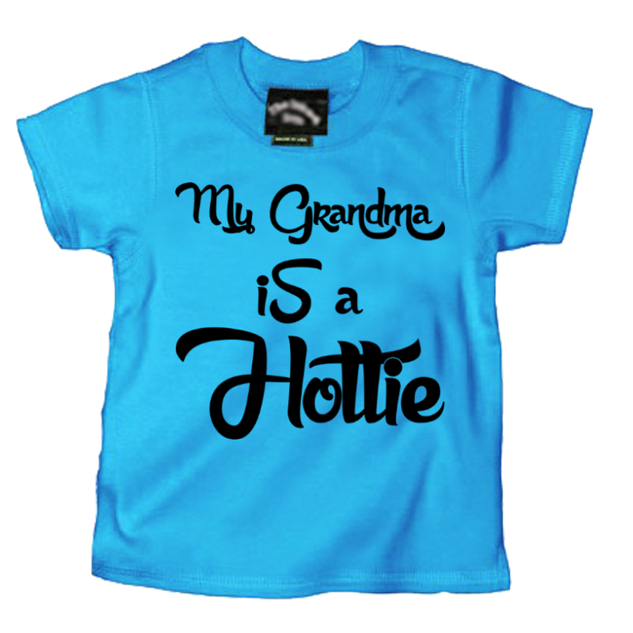 Kids My Grandma Is A Hottie - Tshirt