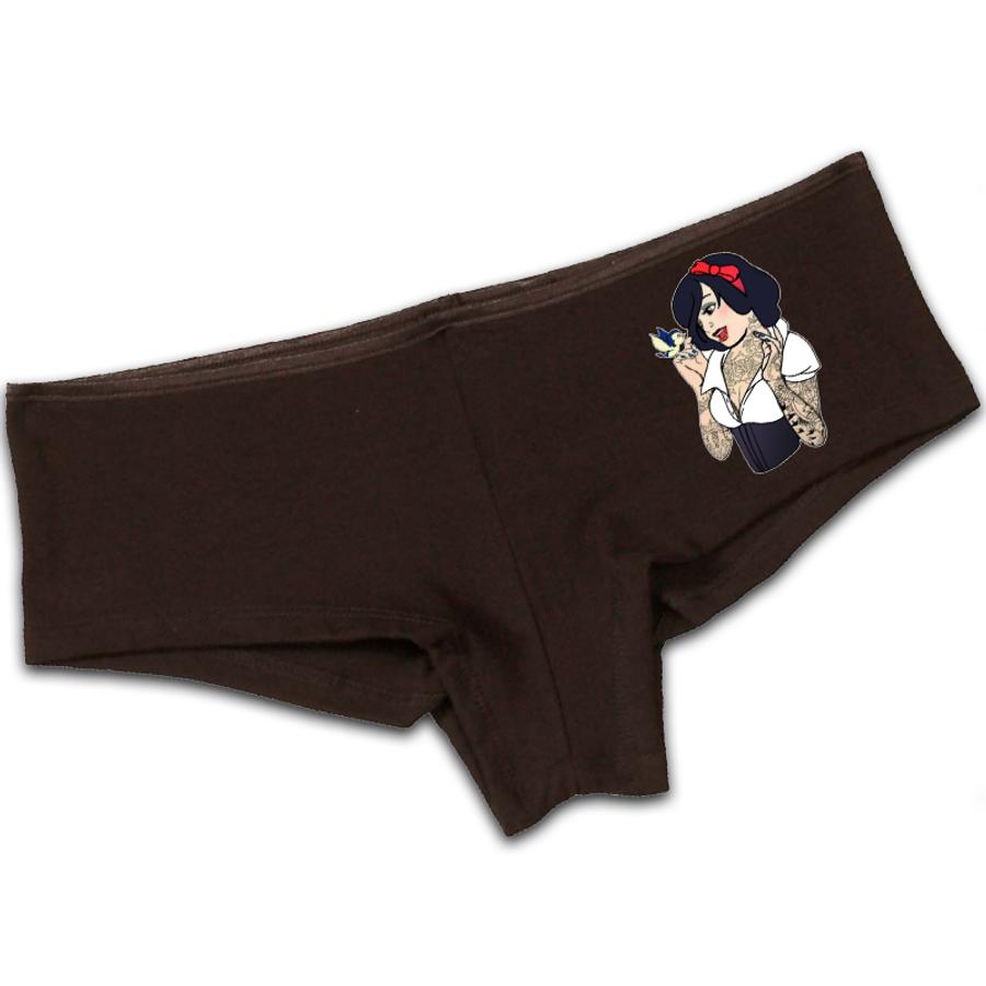 Women'S Snow White - Booty Shorts