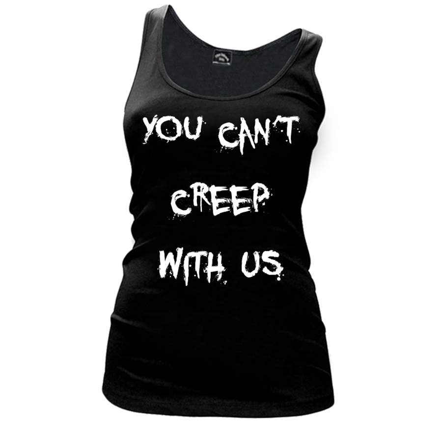 Women's You Can'T Creep With Us (Halloween) - Tank Top