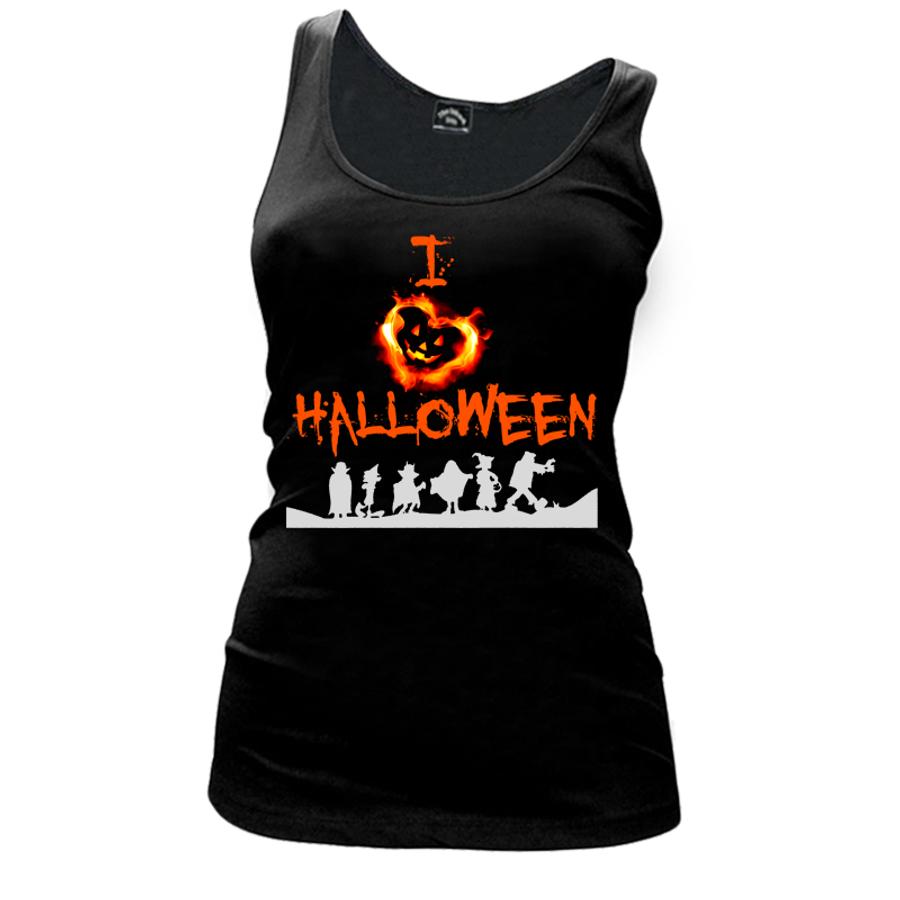 Women's I Love Halloween - Tank Top