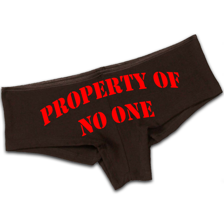 Women'S Property Of No One - Booty Shorts