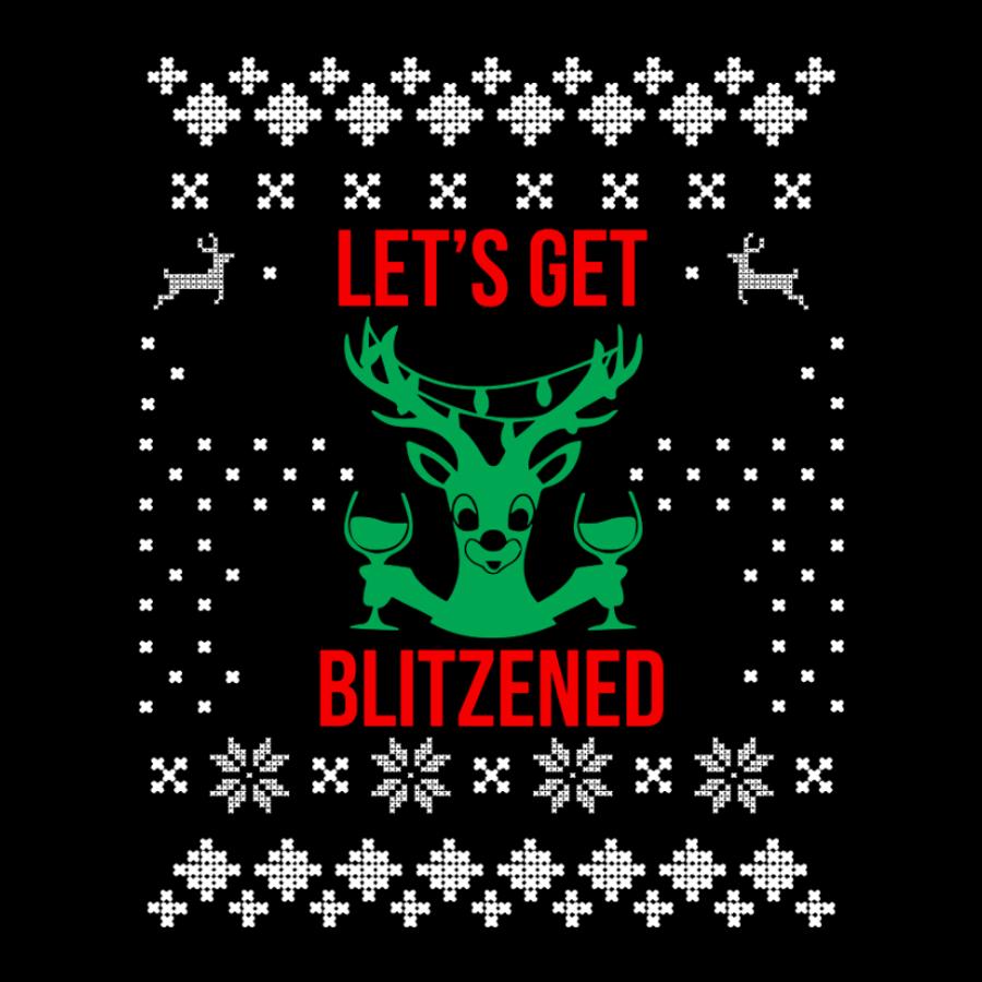 Women'S Let'S Get Blitzened - Tshirt