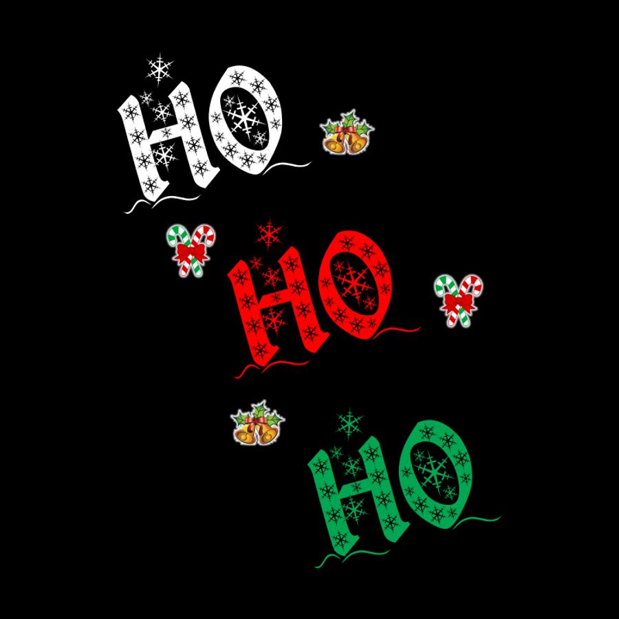 Women'S Ho! Ho! Ho! - Tshirt