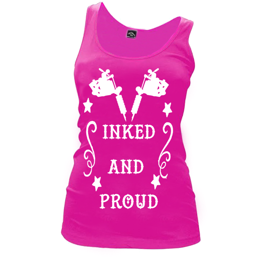 Women'S Inked And Proud - Tank Top