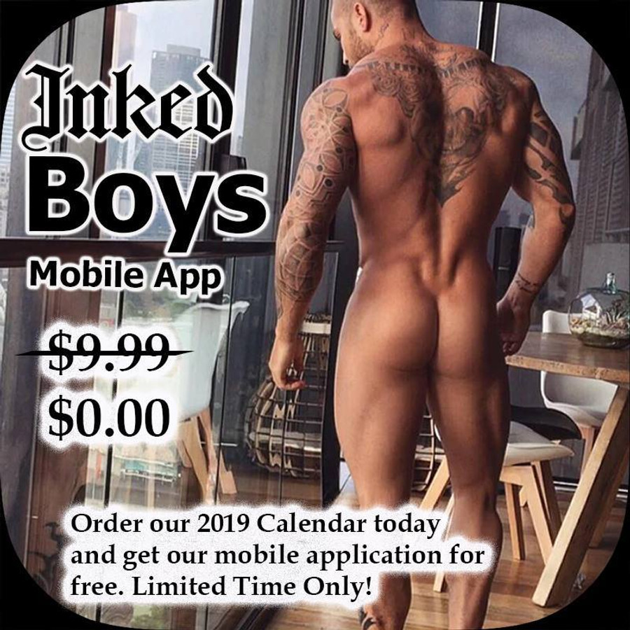 The Inked Boys Calendar 2019