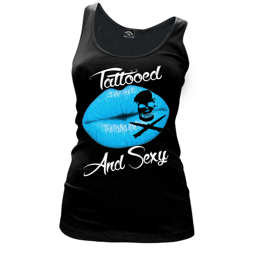 Women'S Tattooed And Sexy - Tank Top