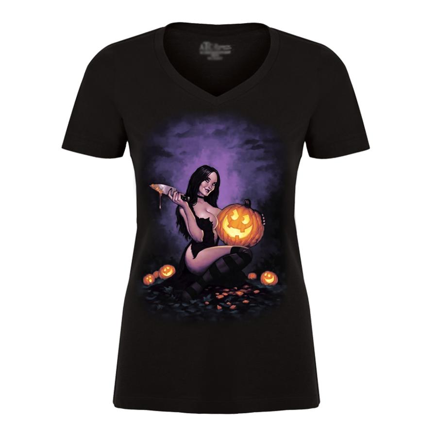 Women's Halloween Shirt - Tshirt