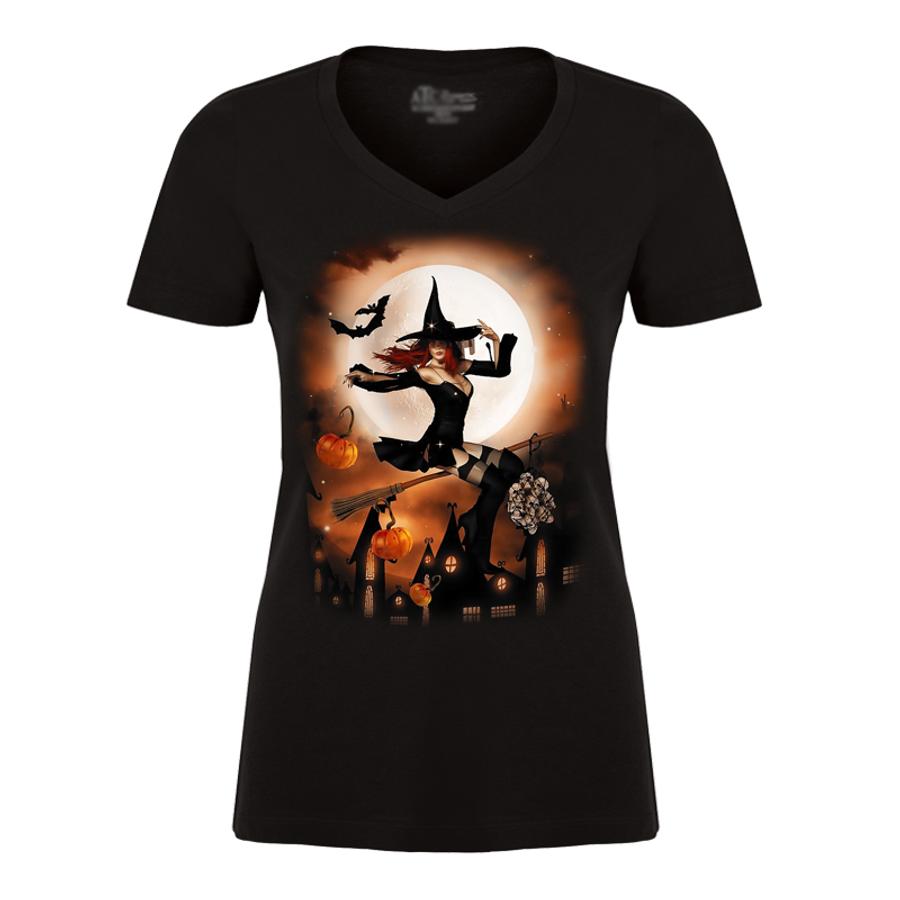 Women's Halloween Shirt 1 - Tshirt
